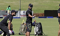 India train ahead of the first ODI against Zimbabwe in Harare