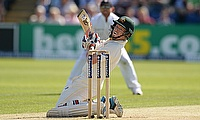 Chris Rogers has admitted that he was nervous before the start of day two