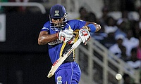 Kieron Pollard smacked an unbeaten 59 off just 37 deliveries as Barbados Tridents defeated Jamaica Tallawahs by 17 runs.