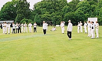 A bowl out in club cricket