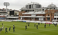 Australia train at Lord's