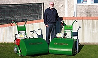 Derek Turner has purchased two Dennis FT510 mowers to maintain the green at Liskeard Bowling Club in Cornwall