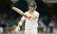 David Warner scored a quick fire unbeaten 60 as Australia stretch their lead to 362 at stumps on day three of the second Ashes Test.