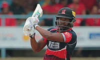Darren Bravo scored a 15-ball 40 as Trinidad & Tobago defeated St Kitts by 40 runs in a rain-marred game.