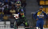Ahmed Shehzad scored a match-winning 95 as Pakistan defeated Sri Lanka by seven wickets to take the series 3-1.