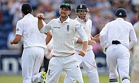 England went 1-0 up in the Ashes in Cardiff, much to the delight of Simon Jones