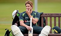 Shane Watson during a training session at Trent Bridge.