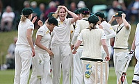 Australia go into next week's Women's Ashes Test after a strong game in Beckenham