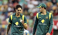 Left-arm quicks Mitchell Johnson and Mitchell Starc