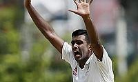 Ravichandran Ashwin appeals for a wicket