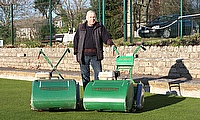 St. Austell Bowling Club in Cornwall has recently purchased a Dennis FT510 cylinder mower and range of cassettes.