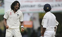 Ishant Sharma has been fined 65 percent of his match fee for giving aggressive send offs to Lahiru Thirimanne and Dinesh Chandimal in the second Test