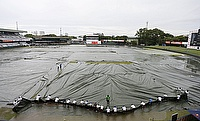 Rain plays spoilsport on day one of third Test