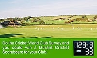 Cricket Club Equipment Survey 2015/16
