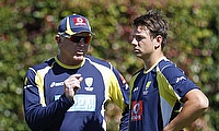 Craig McDermott and James Pattinson