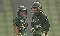 Bismah Maroof and Javeria Khan