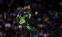 Bilal Asif took five wickets for Pakistan against Zimbabwe