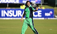 Tim Murtagh guides Ireland to a nervy two-wicket win
