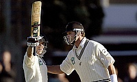 Brendon McCullum (left) claims that Chris Cairns (right) made an approach in 2008