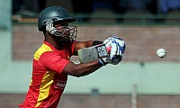 Chamu Chibhabha scored a brisk 58 as Zimbabwe defeated Afghanistan by eight wickets in the first ODI in Bulawayo.