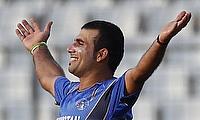 Nabi century helps Afghanistan level series