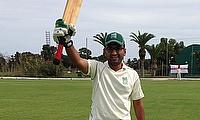 Haroon celebrates his century
