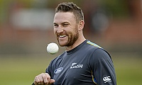 Brendon McCullum was rested for the tour game against Prime Minister's XI