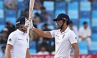 Root was slightly more aggressive in his approach while Cook preferred to hang in and play the waiting game