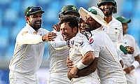 Yasir Shah took the final wicket as Pakistan beat England in Dubai