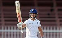 Taylor's gritty half-century gives England edge on day two