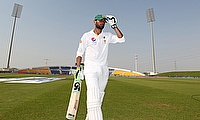 Shoaib Malik pictured in Abu Dhabi