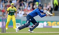 Jason Roy made his ODI debut this summer and played against Ireland, New Zealand and Australia (pictured here)