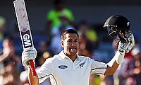 Taylor slams double hundred as New Zealand mount strong reply