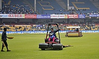 Rain, wet outfield force abandonment of day three