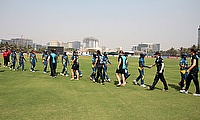 File photo from the 2013 Women's World Cup between New Zealand and Sri Lanka