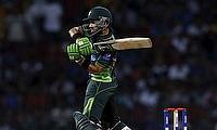 Mohammad Rizwan scored an unbeaten fifty for Pakistan against Hong Kong in the tour game.