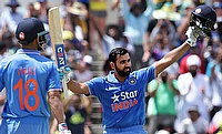 Rohit ton goes in vain as Smith, Bailey give Australia 1-0 lead