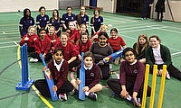 Sale Cricket Club have been actively promoting the game to girls at local schools this year