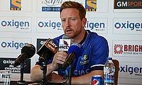 Paul Collingwood during a press conference ahead of the MCL 2016 tournament.