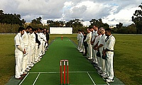 A minute's silence was observed in honour of MSC Cricket Treasurer - John Collison
