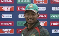 Nazmul Hossain Shanto was declared the man of the match for Bangladesh against Scotland.