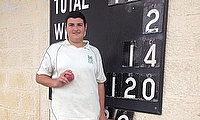 Ethan Xuereb played his part in both Marsa wickets to fall, taking a wicket and a catch