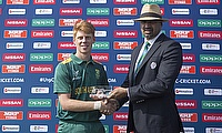 Kyle Verreynne scored a match-winning 77 for South Africa.