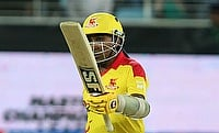 Mahela Jayawardene scored 124 off 60 deliveries for the Sagittarius Strikers.