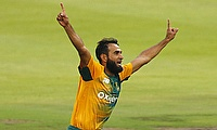 Imran Tahir picked five wickets for South Africa in the two-match T20I series against England at an economy of 5.75.