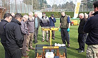 The Dennis and SISIS bowls seminars offer delegates the opportunity to view the latest machinery in action