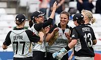 Kasperek takes four as New Zealand take 1-0
