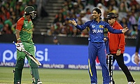 Sabbir Rahman (left) scored 54-ball 80 for Bangladesh.
