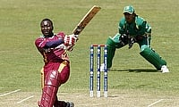 Stafanie Taylor (left) scored 63 for West Indies.