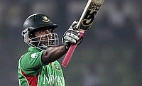 Bangladesh prevail over Netherlands after Tamim Iqbal heroics